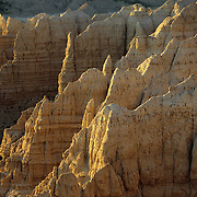 Sheep Mountain in the rugged and trackless South Unit of Badlands National Park, SD.
