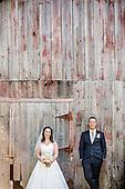 Becky + Gary, married at Nithridge Estates