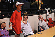 Cooper Manning and Archie Manning attend Ole Miss vs. Vanderbilt in Oxford, Miss. on Saturday, March 8, 2014. Mississippi won 65-62. (AP Photo/Oxford Eagle, Bruce Newman)