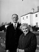 1960 - 07/01 De Valera 50th Wedding Anniversary