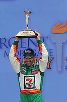 Tony Kanaan wins at the Kansas Speedway, Kansas Indy 300, July 3, 2005