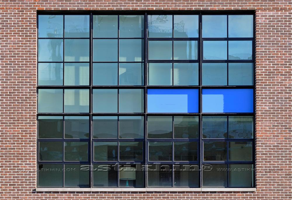 USA, New York, New York City, Windows