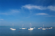 Sailboat, Hudson River, Ossining, New York