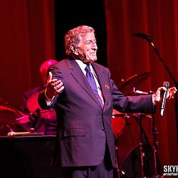 Tony Bennett at the NJ Performing Arts Center 2013