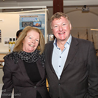 (l to r) Eleanor Connolly and Martin Byrne attending the official launch of Volvo Dún Laoghaire Regatta 2017 in the National Maritime Museum of Ireland on Wednesday evening. The Regatta will be among the biggest mass-participatory sporting event in Ireland this year (eclipsed for numbers only by the city marathons).