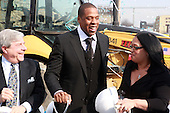Ground Breaking Ceremony for The Barclay Center held at The Atlantic Yards on March 11, 2010