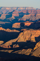 The many layers of the Grand Canyon.