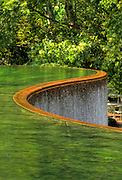 Emerald waterfall, Crystal City Water Park, Arlington, Virginia