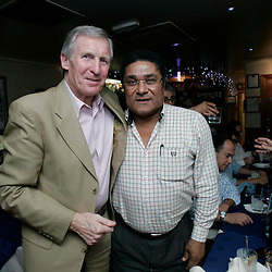 Billy McNeil with Eusebio, 2007