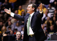 WEST LAFAYETTE, IN - DECEMBER 29: Head coach Tony Shaver of the William & Mary Tribe seen on the sidelines during action against the Purdue Boilermakers at Mackey Arena on December 29, 2012 in West Lafayette, Indiana. Purdue defeated William & Mary 73-66. (Photo by Michael Hickey/Getty Images) *** Local Caption *** Tony Shaver