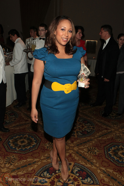 New York, NY-April 18: NewsAnchor Mara Schiavocampo attends Rev. Al Sharpton's National Action Network's Keeper of the Dream Awards held at Cipriani's Wall Street on April 18, 2012 in New York City. (Photo by Terrence Jennings)