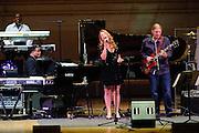"Greg Phillinganes, Herbie Hancock, Susan Tedeschi and Derek Trucks at Herbie Hancock's ""Seven Decades: The Birthday Celebration"" at Carnegie Hall. June 24, 2010"