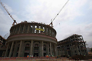 New Parliament in Luanda, comparable to Washington State Capitol, the construction is the responsibility of  Portuguese company Teixeira Duarte.