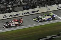 Dan Wheldon, Peak Antifreeze and Motor Oil Indy 300, Chicagoland Speedway, 8/28/2010