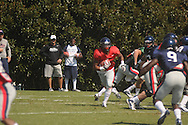 Ole Miss football practice in Oxford, Miss. on Saturday, August 11, 2012.
