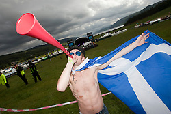 Rockness fans..Rockness, Friday 11th June..Pic ©2010 Michael Schofield. All Rights Reserved.