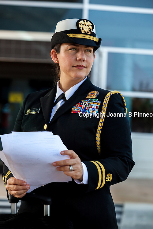 Army Captain Christine Collins for Ladies Home Journal Magazine.