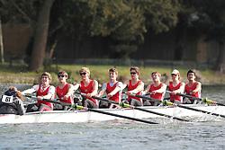 2012.02.25 Reading University Head 2012. The River Thames. Division 1. Kingston Grammar School A J18A 8+