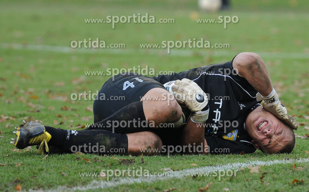 Nejc Vidmar #41 of Domzale during football match between NK Mura 05 and NK Domzale in 18th Round of PrvaLiga NZS 2012/13