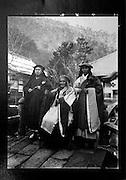 LIVING ZEN - HOSHINJI MONASTERY, OBAMA-JAPAN..Harada Soogaku (middle) was the 1st abbot of the monastery in 1920. There were 60 monks living in the monastery at his time.