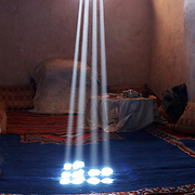 Sunrays in bedroom, Tikirte - Morocco