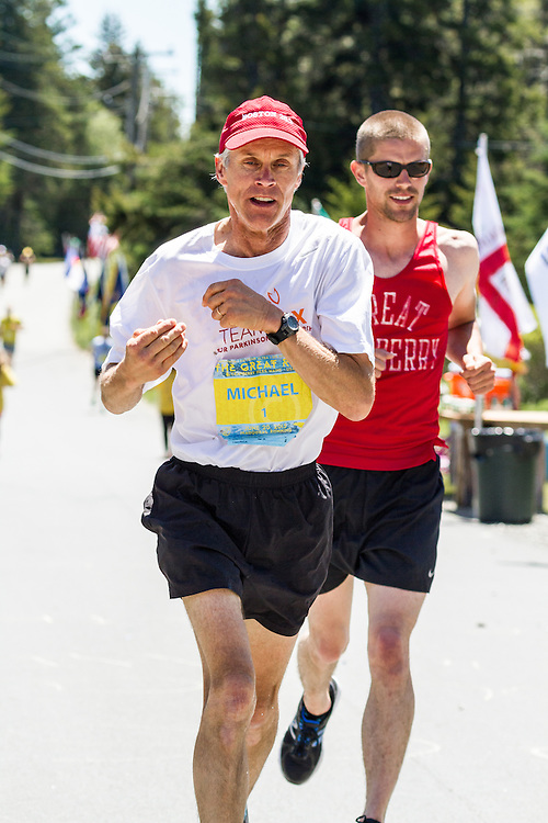 The Great Run Marathon and 6-Hour Race: Michael Westphal