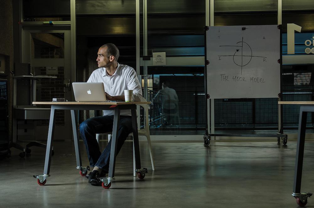Nir Eyal, author on psychology + technology at Stanford University | Engage Magazine (Sweden)