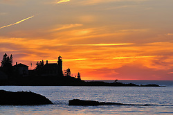 Eagle Harbor Lighthouse,<br />