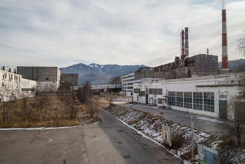 The Baikalsk Pulp and Paper Mill on Wednesday, October 23, 2013 in Baikalsk, Russia.