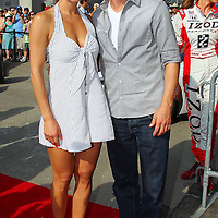 Entertainment - Maria Menounos and Derek Hough - Indianapolis 500
