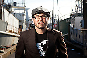 "Eugene Cho is the co-founder of ""One Day's Wages"", a program to fight poverty by giving up one day's pay.  Cho is the founder and pastor at Quest Church in Seattle.  Photographed by Brian Smale for Christianity Today Magazine."