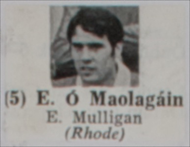 Eugene Mulligan, Rhode,