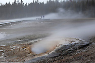 Pump Geyser in Upper Geyser Basin, Yellowstone National Park, Wyoming