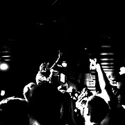 """On March 30th, 2012 The Firebird in Saint Louis hosted Axe's """"One Night Only"""" tour featuring a DJ set from hit producer Diplo. The surprise show also featured Chiddy Bang and Lunice."""