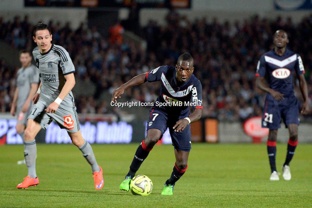 Abdou TRAORE - 12.04.2015 - Bordeaux / Marseille - 32eme journee de Ligue 1 <br />Photo : Caroline Blumberg / Icon Sport