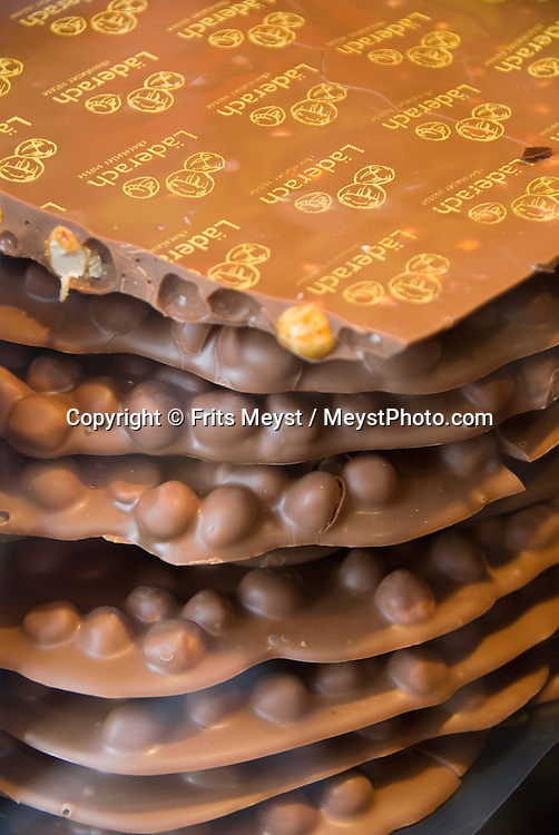 Locarno, Ticino, Switzerland, August 2009. World Famous Swiss Chocolate.Ticino is the subtropical canton of switzerland where Italian is the first language. Photo by Frits Meyst/Adventure4ever.com