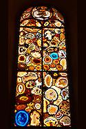 Grossmunster Stained Glass Window Zurich Switzerland