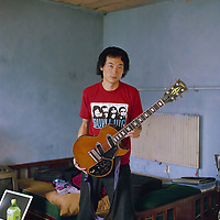 Zhang Wei is a 30-year old Chinese musician in Beijing, China in 2006.