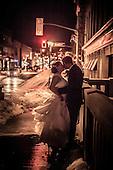 Cindy + Jay's evening wedding