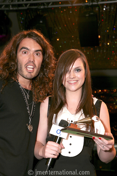 Russell Brand and Amy Macdonald