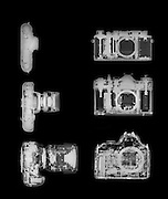 X-ray photography of digital cameras