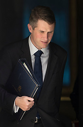 © Licensed to London News Pictures. 25/04/2017. London, UK. Chief Whip Gavin Williamson leaves Downing Street after attending the penultimate Cabinet meeting ahead of the election on June 8th, 2016. Photo credit: Peter Macdiarmid/LNP