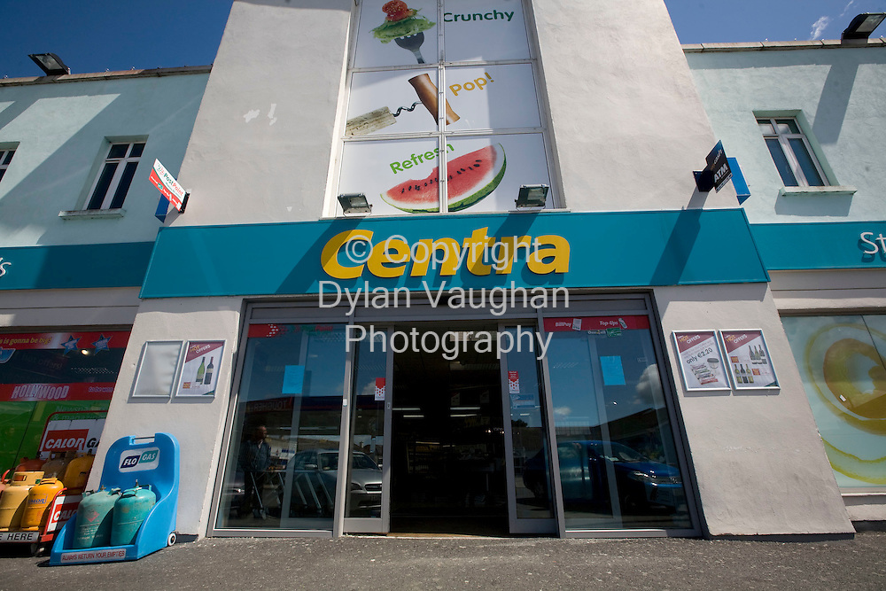 29/6/2008.Hickson Brothers Centra on Staplestown road in Carlow where the winning Lotto ticket was sold..Picture Dylan Vaughan.