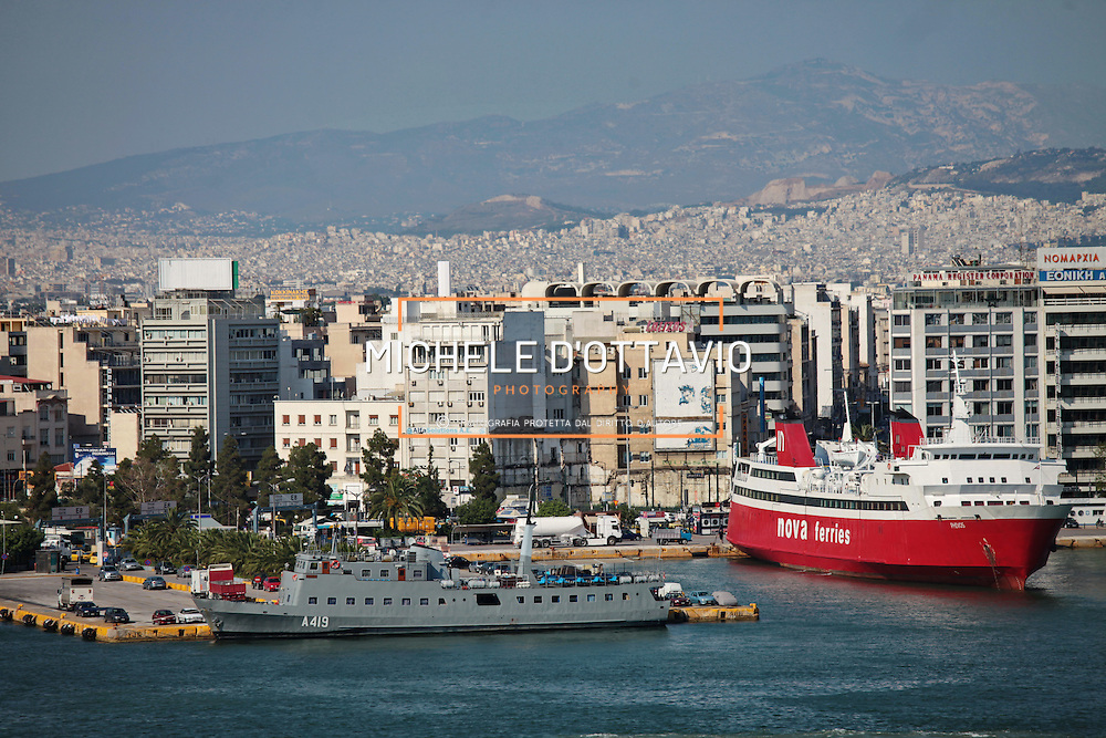 Porto del Pireo Atene Grecia