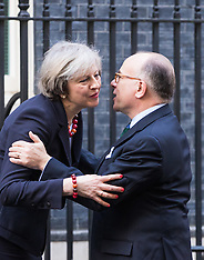 2017-02-17 PM Theresa May welcomes French PM Bernard Cazeneuve to Downing Street