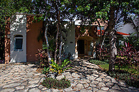 The home of George Williams in Playacar, Mexico. (Photo By Robert Caplin)
