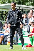 SCHIEDAM - PPSC - Sparta , Voetbal , voorbereiding , Seizoen 2016/2017 , Sportpark Thurlede , 02-07-2016 , Trainer coach Alex Pastoor