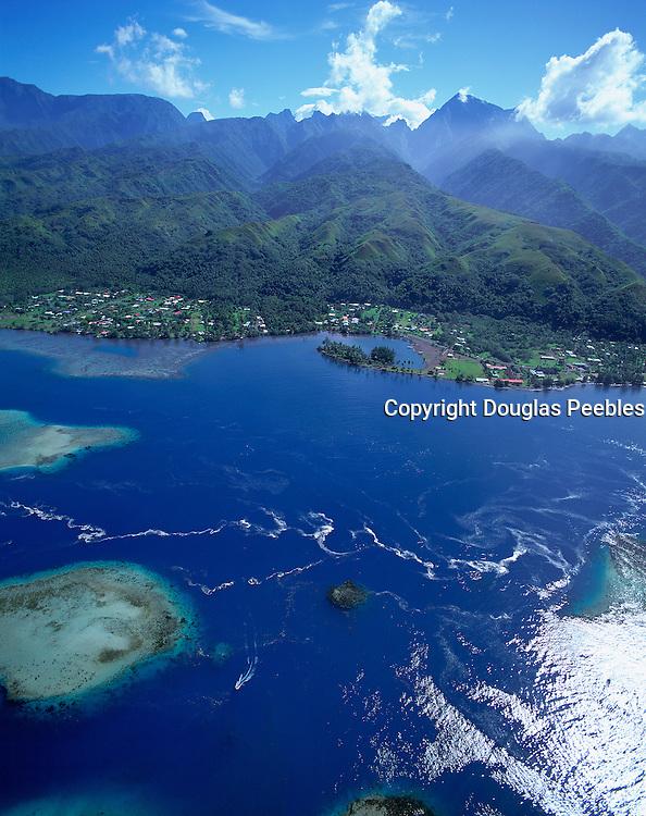 Island of Tahiti, French Polynesia<br />