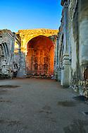 Sunrise Great Stone Church, Mission San Juan Capistrano