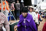 September 13, 2015, South Africa, Tshitanini village. Gogo Ipa, the mother of Benedict Daswa.
